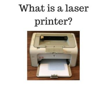 what is a laser printer