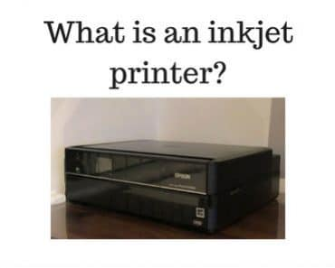 What is an inkjet printer?