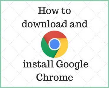 Download Google Chrome for Windows 10
