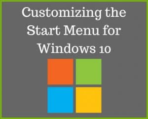Start menu for windows 10