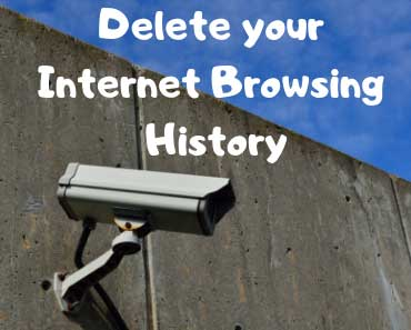 Delete browsing history