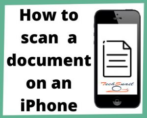 How to scan on iPhone